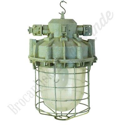 Robuuste fabriekslamp 'Commando straight'