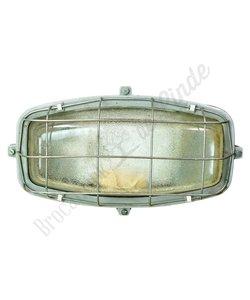 Vintage wandlamp 'Oblong Caged'