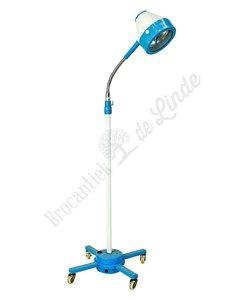 Oude operatie vloerlamp 'Medical blue'