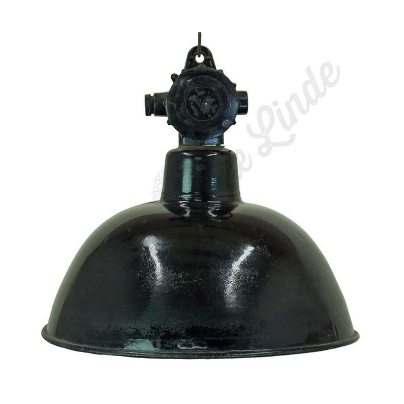 "Stoere indsutriële hanglamp 'Black hood"""