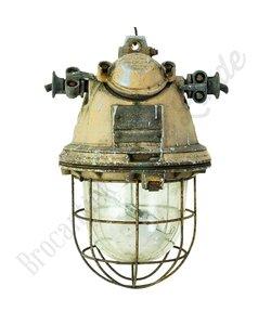 Stoere fabriekslamp 'X-Bomb Caged'