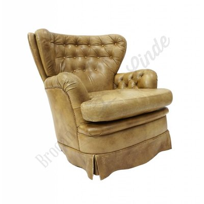 Chesterfield oorfauteuil