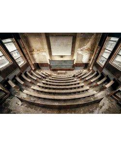 Urbex Art 'Lecture hall'