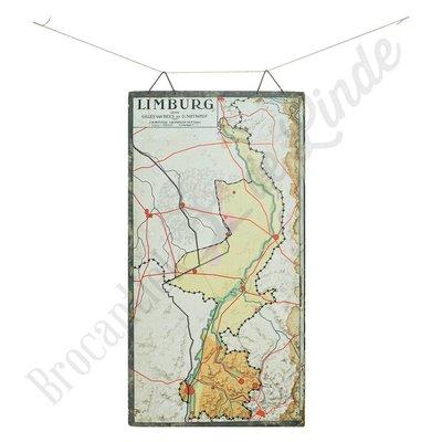 Oude landkaart 'Limburg'