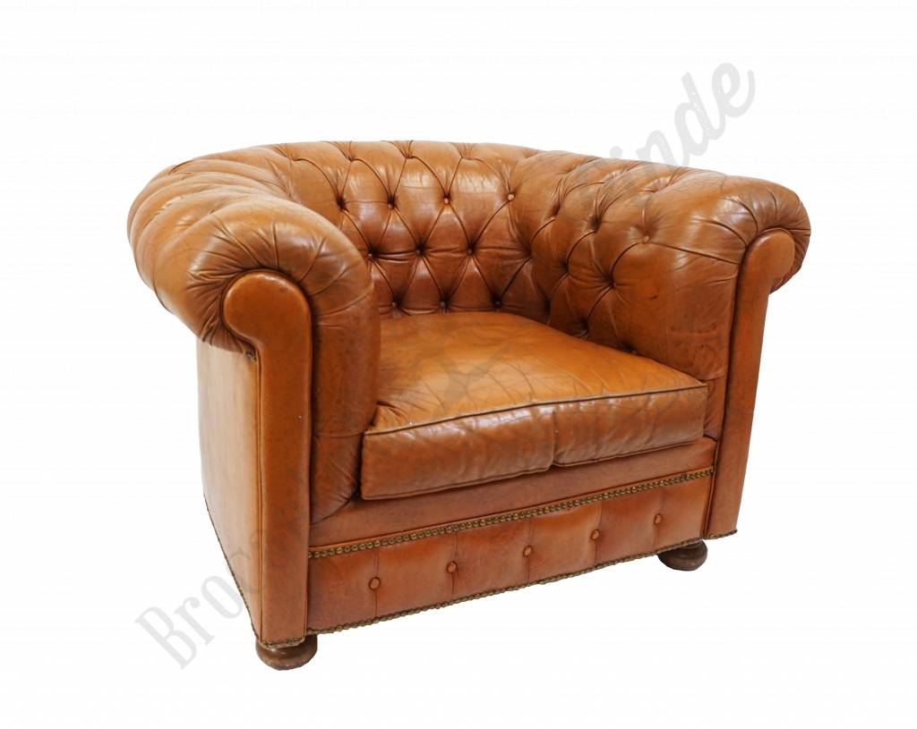 Chesterfield Fauteuil Vintage