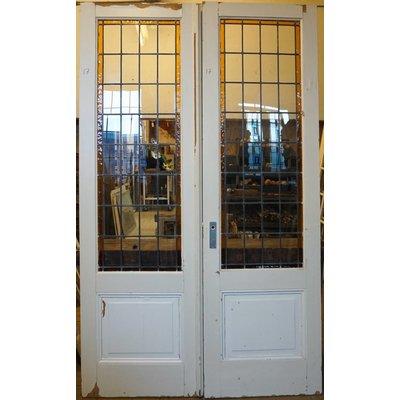 249 x 152 cm - Glas in lood deuren No. 17