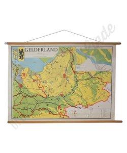 Vintage landkaart 'Gelderland'