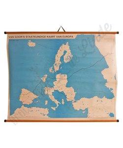 Van Goor's Staatkundige kaart van Europa