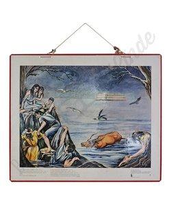 Historische bijbelplaat De Zondvloed