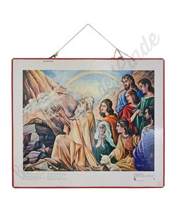 Historische bijbelplaat Noë