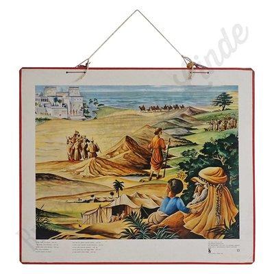 Historische bijbelplaat No. 13