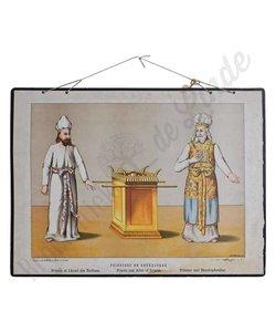 Schoolplaat 'Priesters en Reukaltaar'