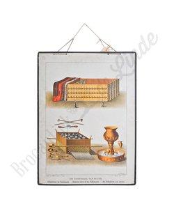 Schoolplaat 'De tabernakel van buiten'