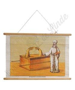 Historische schoolplaat 'Ark des Verbonds'