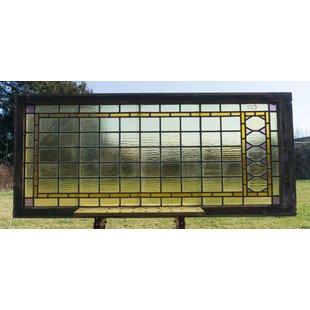73,5 x 165,5 cm - Glas in lood raam No. 109