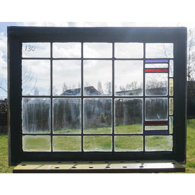 Glas in lood raam No. 130