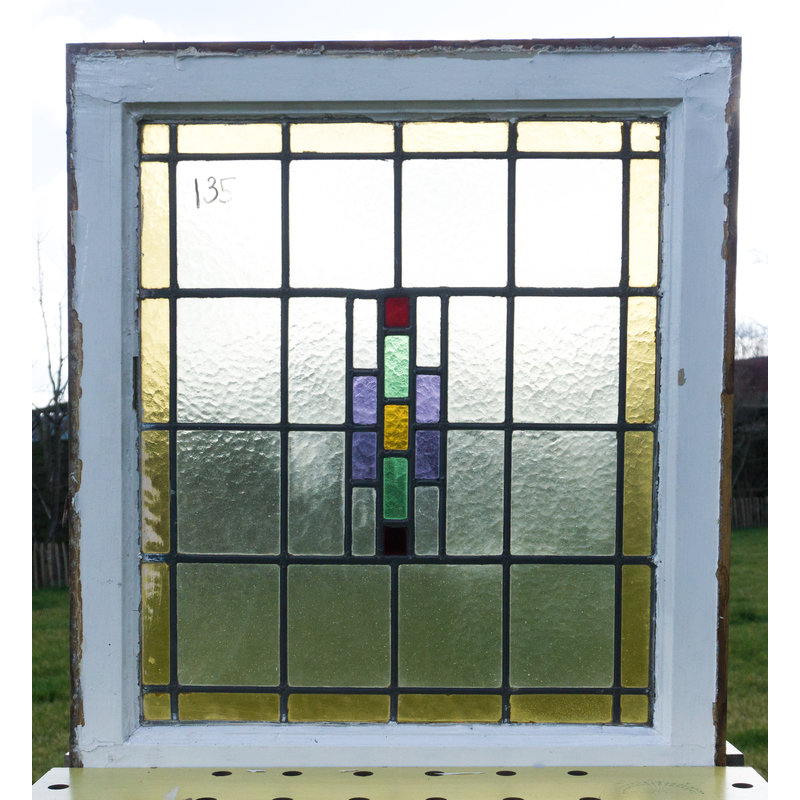 Glas in lood raam No. 135