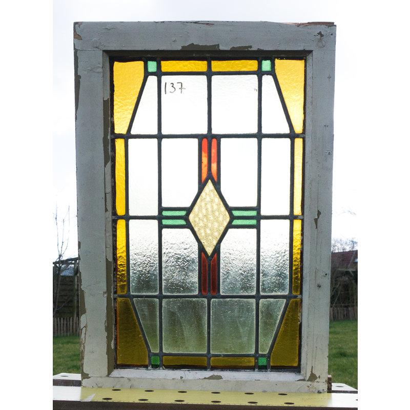 Glas in lood raam No. 137