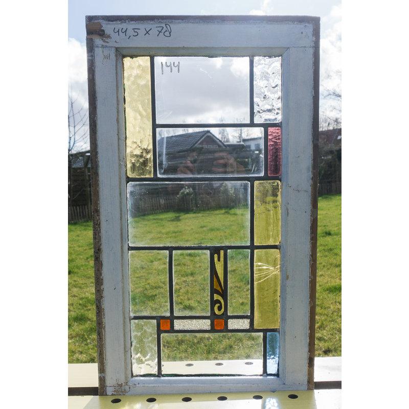 Glas in lood raam No. 138