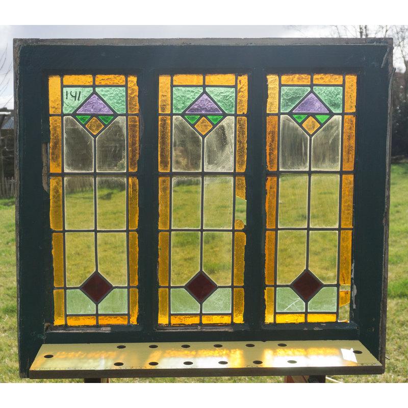 Glas in lood raam No. 141