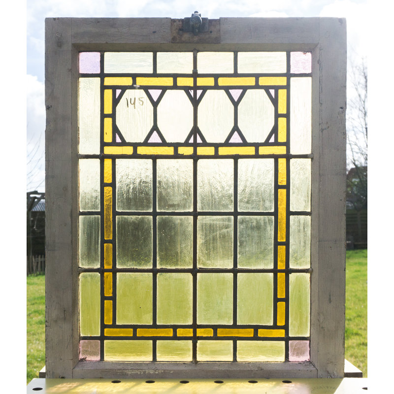 Glas in lood raam No. 145