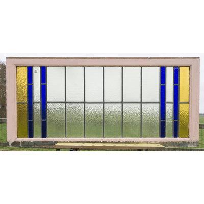 62,5 x 133,5 cm - Glas in lood raam No. 121