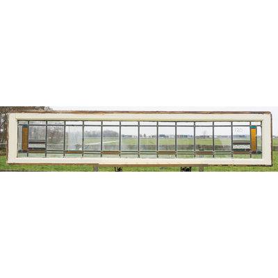 40 x 184,5 cm - Glas in lood raam No. 120