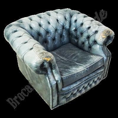 Vintage fauteuil 'Modra Klasika'