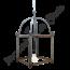 Brocante hanglamp metaal 'Small'