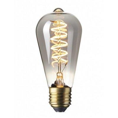 Calex ST64 flex LED lamp Titanium