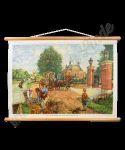 """Historische schoolplaat """"Buitenplaats"""""""