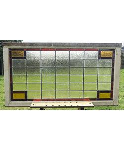 75 x 135 cm - Glas in lood raam No. 146
