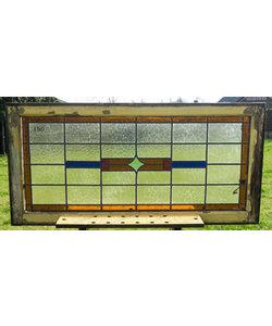 62,5 x 127,5 cm - Glas in lood raam No. 150