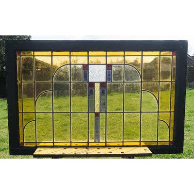 73 x 112,5 cm - Glas in lood raam No. 153