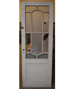 219 x 77,5 cm - Paneel deur No. 79