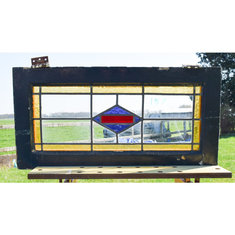Glas in lood raam No. 157