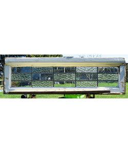 28,5 x 96 cm - Glas in lood raam No. 173