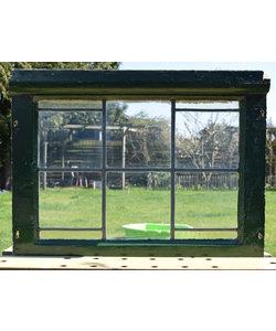 49 x 46 cm - Glas in lood raam No. 174