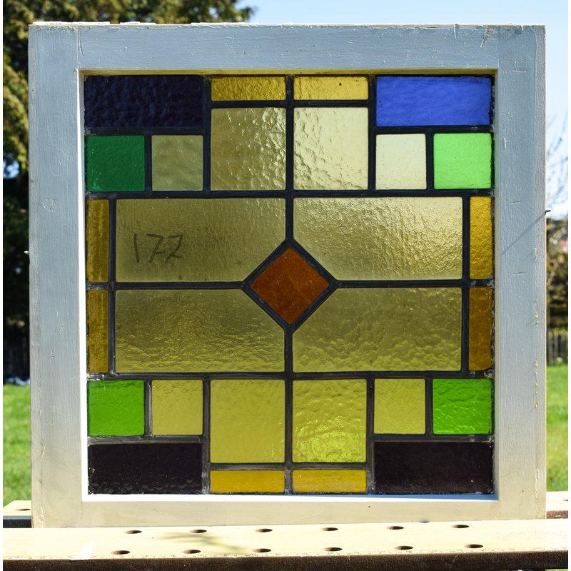 Glas in lood raam No. 177