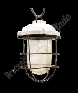 Stoere porseleinen hanglamp