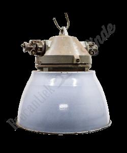 Stoere vintage hanglamp 'Duvel grey'