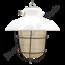 "Industriële kooilamp ""Petrovice"" - Origineel"