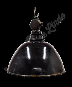Vintage hanglamp 'Black Hood No. 1'