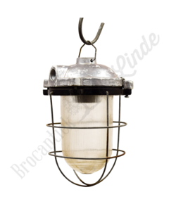 Porseleinen hanglamp Caged