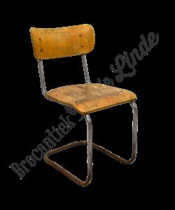 Vintage stoel 'tubular'