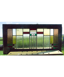 44 x 88 cm - Glas in lood raam No. 190