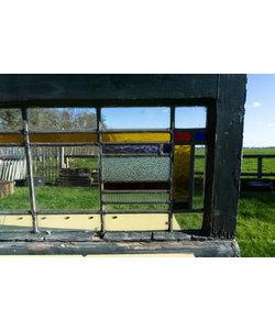 39 x 83 cm - Glas in lood raam No. 191
