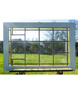 60,5 x 90 cm - Glas in lood raam No. 192