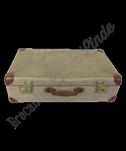 Vintage koffer 'grijs'