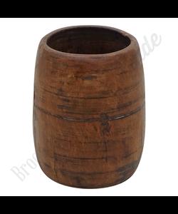 Vintage houten vaas No. 2